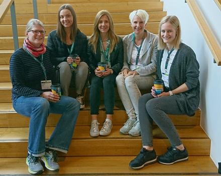 Praxis-Team auf dem Ergotherapie Kongress 2019 in Osnabrück